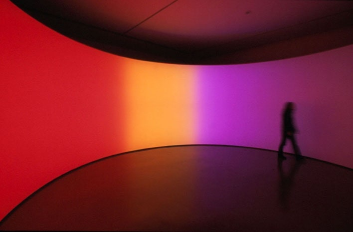 360 degree room for all colours, 2002