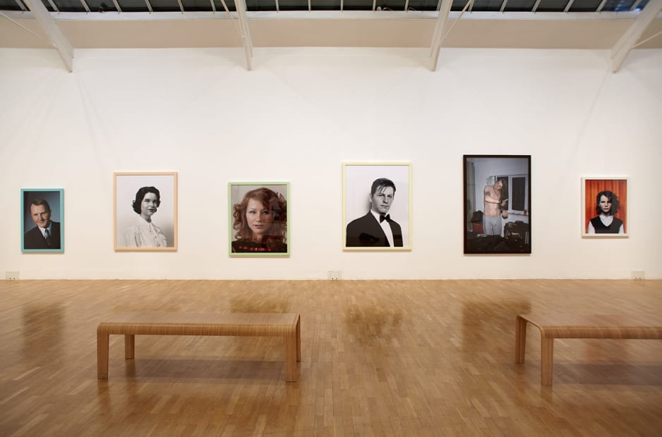 Installation view at Whitechapel Gallery, London, 2012
