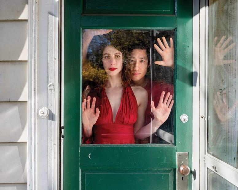 Mia and Jun, Allston, Massachusetts, 2020