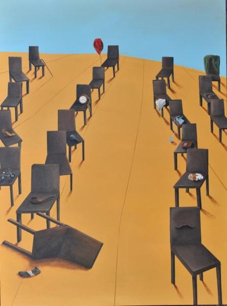 Still life, Acrylic on canvas, 135x100cm