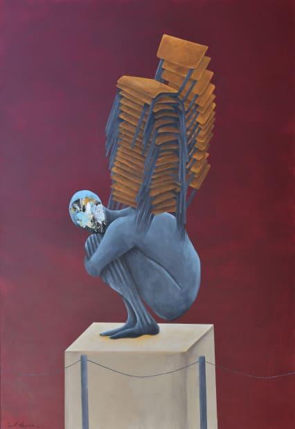 Embodiment, Acrylic on canvas, 160x110cm