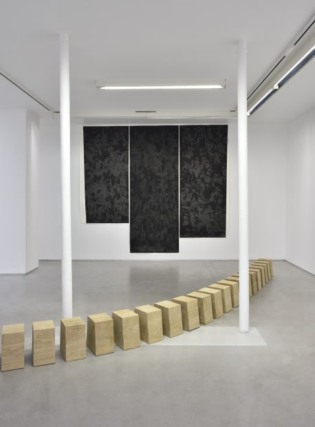 Richard Nonas (PARENTHESIS); (corner to corner, in place) 17.10-23.11.2019