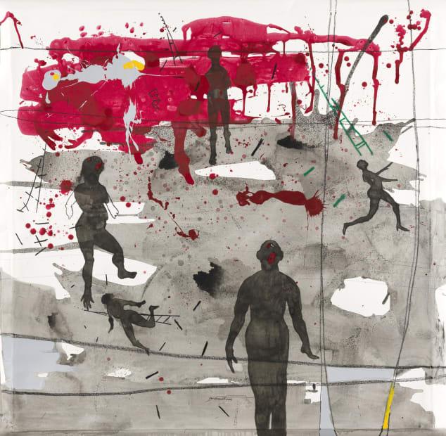 Nù Barreto rouge indelibile , 2016