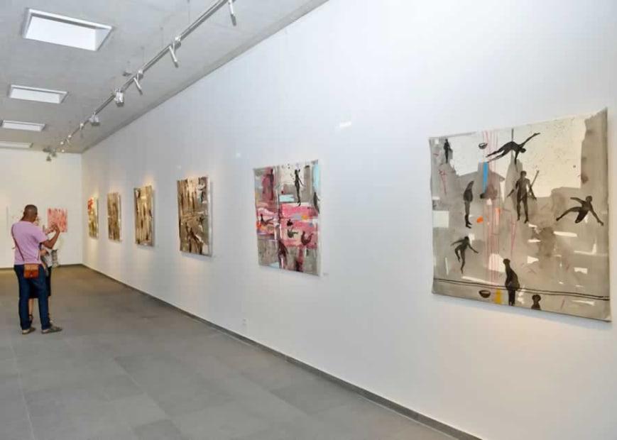 Vue de l'exposition