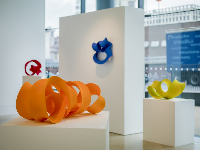 Installation view of Merete Rasmussen: New York, 2019