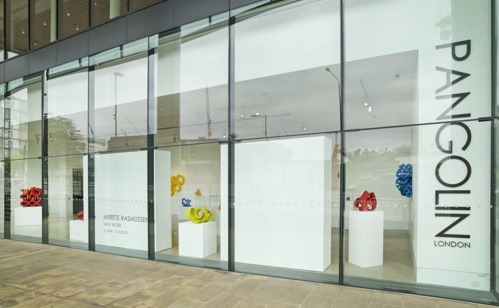 Exterior Installation view of Merete Rasmussen: New Work, 2019