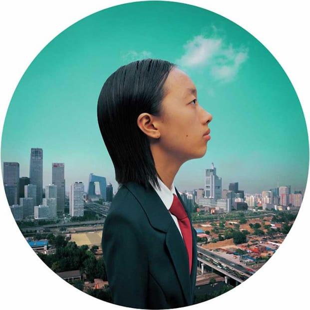 Weng Fen Future-Beijing (18/30), 2010 photograph 25x25in