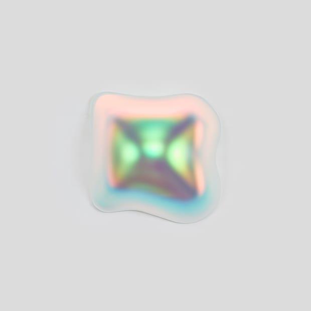 Liquid Square (Barium), 2020