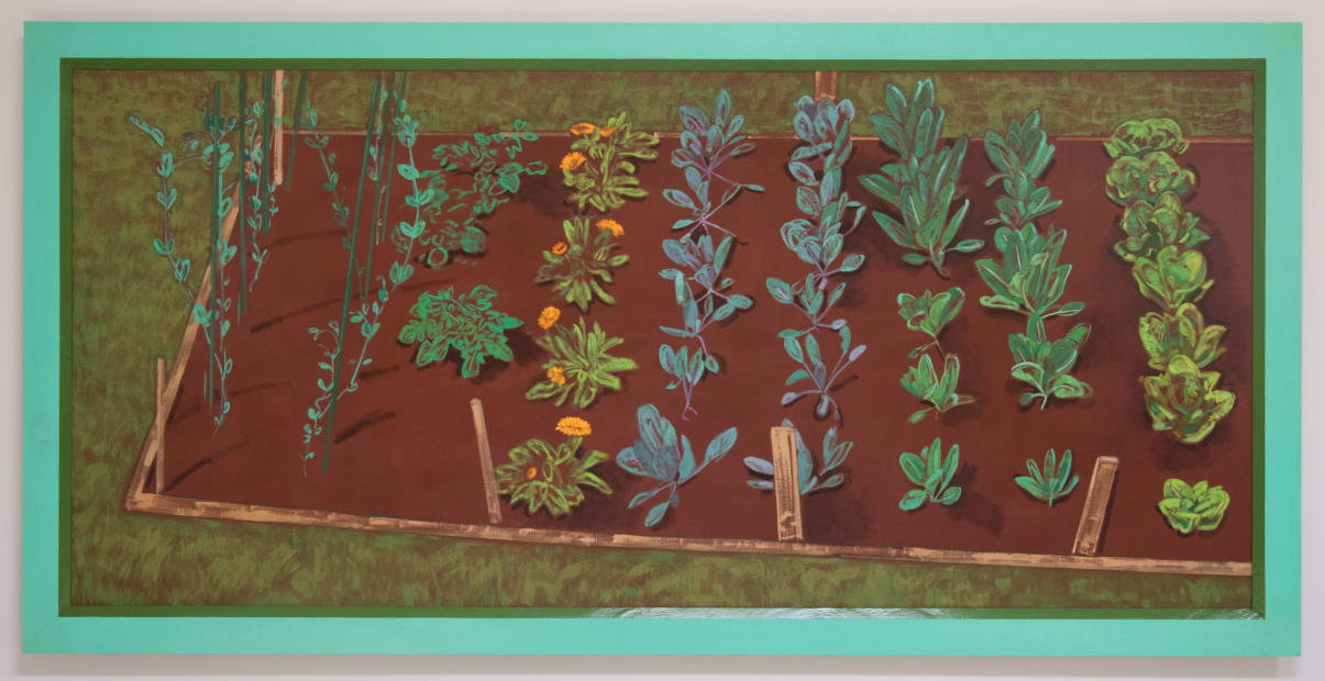 Winter Vegetable Bed, 1991