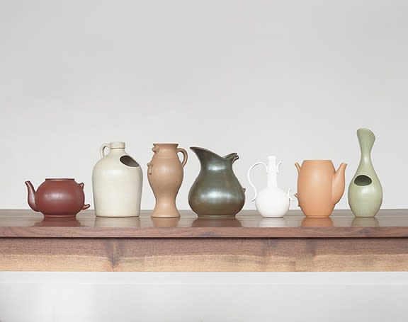 Vases about Language and Redemption, 2013(designed 2005)