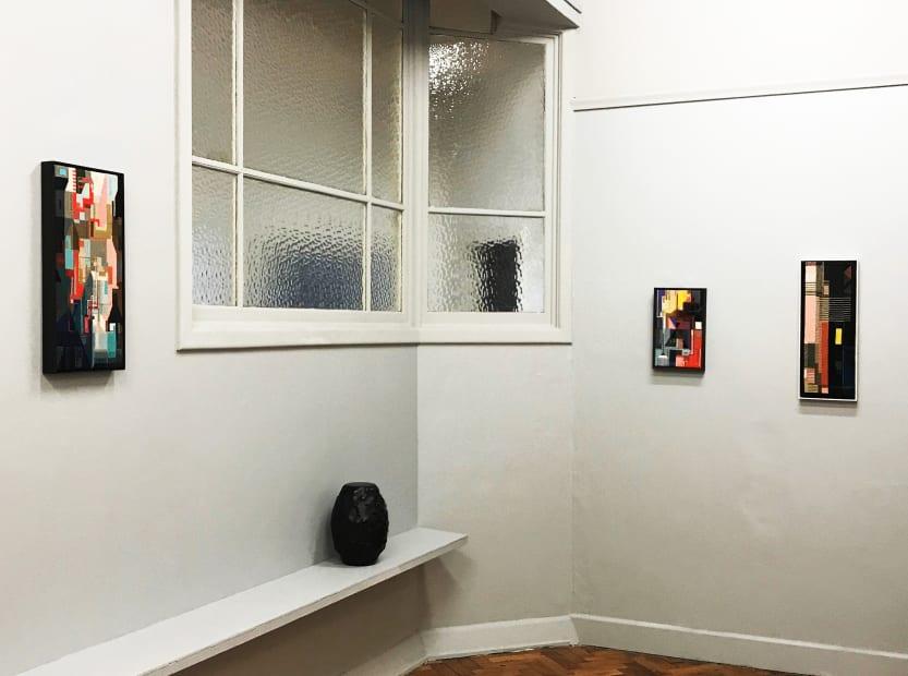 Lisa Young Walk Forward, 2019 Installation view