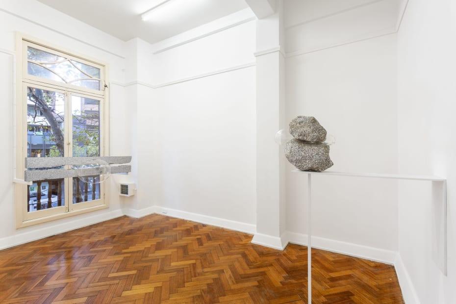Simone Slee Rocks. holding up, 2019 Installation view Photography: Christo Crocker
