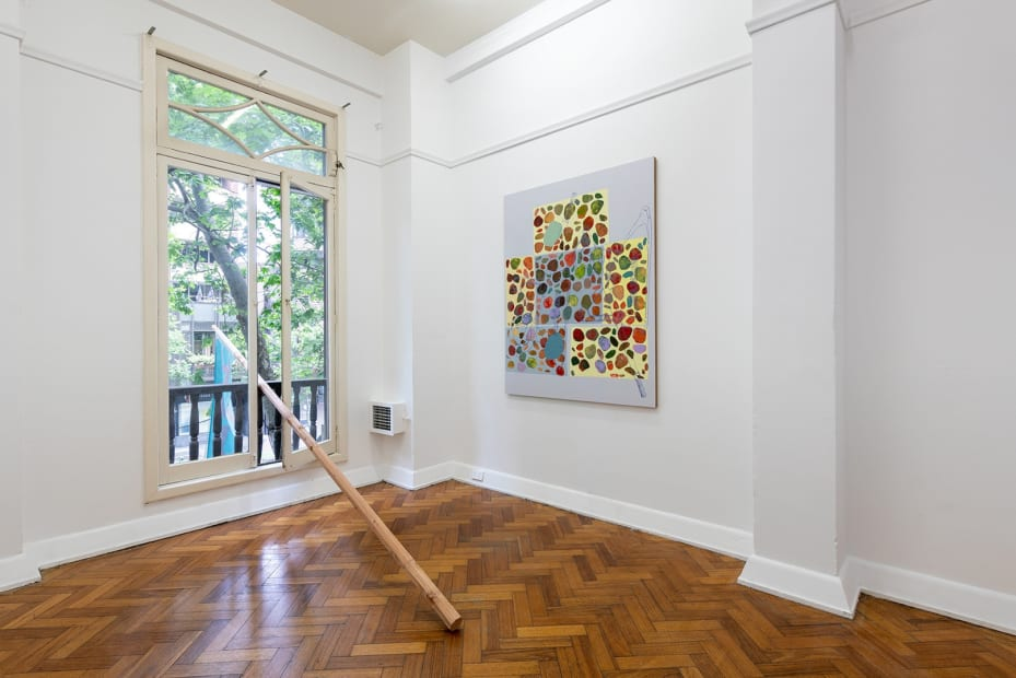 Nadine Christensen, The Long Echo, 2018 Installation view Photo: Andrew Curtis