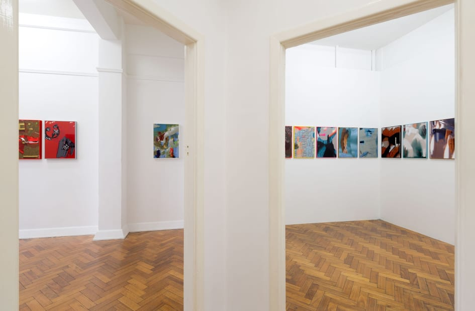 Tony Garifalakis: Information Discharge Systems, 2018 Installation view