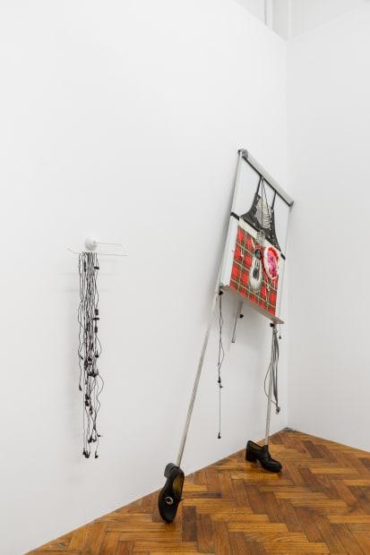 Lou Hubbard, The Enigma Code, 2018 Installation view Photo: Christo Crocker