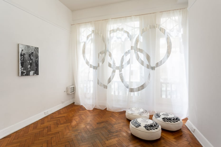 Kate Daw and Stewart Russell, The Waiting Room, 2018 installation view