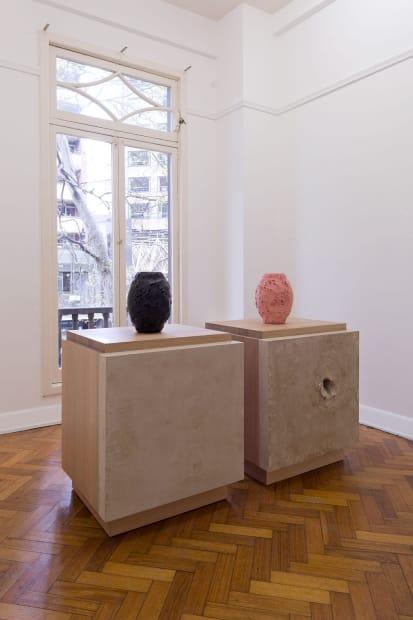 Fiona Abicare, Americano, 2016 Installation view Photo: Christian Capurro