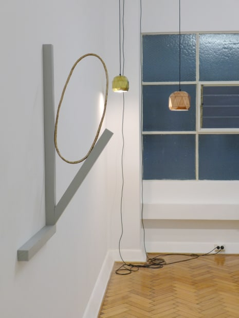 Akira Akira and Bianca Hester, Hold, 2014 Installation view
