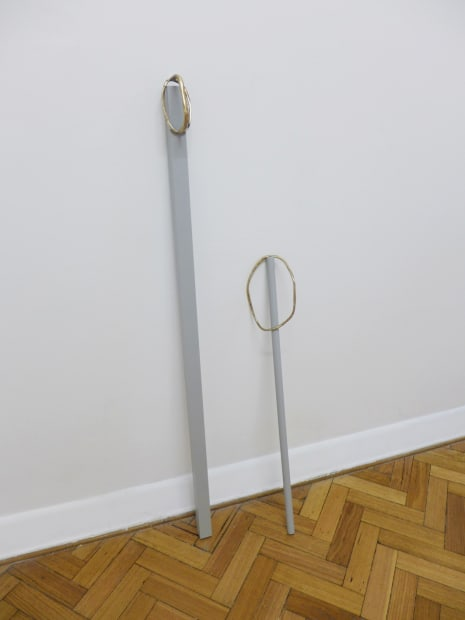 Bianca Hester, Hold, 2014 Installation view