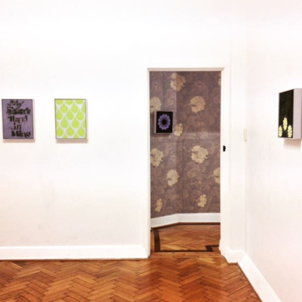 Kate Daw, Love, Work (Show Me Grace), 2016 Installation view