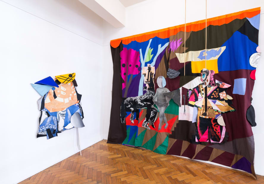Sally Smart, The Choreography of Cutting Installation view Photo: Aaron Rees