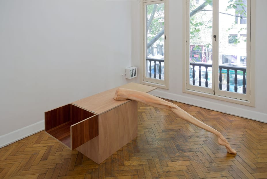 Cate Consandine, On the edge of an aligned surrender, 2015 Installation view Photo: Christian Capurro