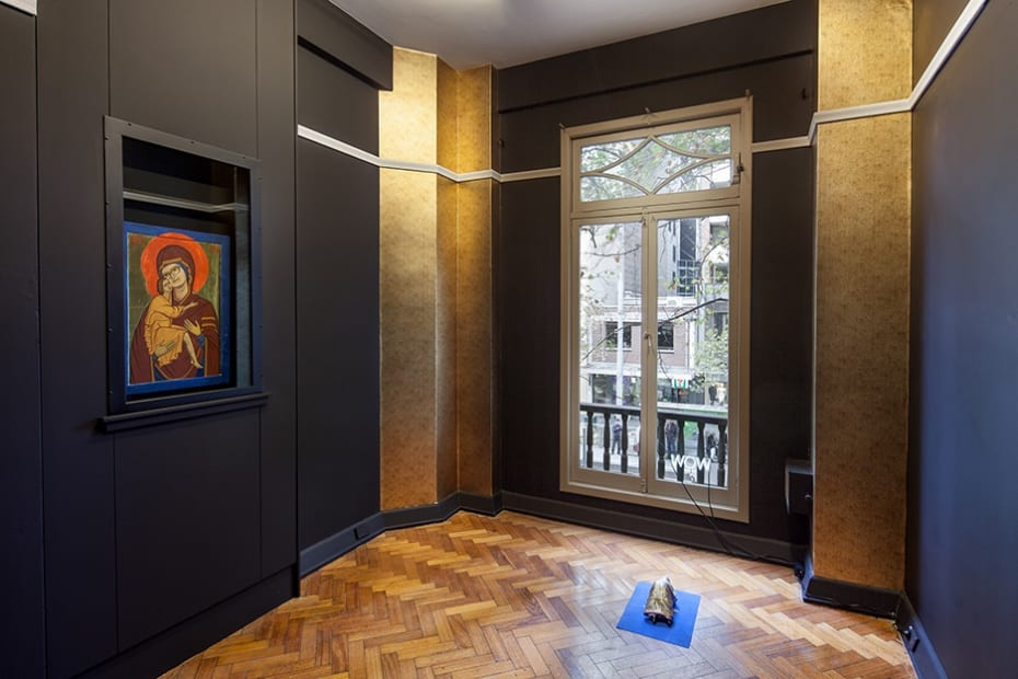 Sanja Pahoki Being Kazimir Malevich, 2016 Installation view