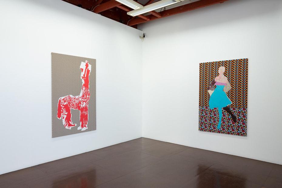 Sally Smart at Darren Knight Gallery Installation view, 2018 Photo: Simon Hewson