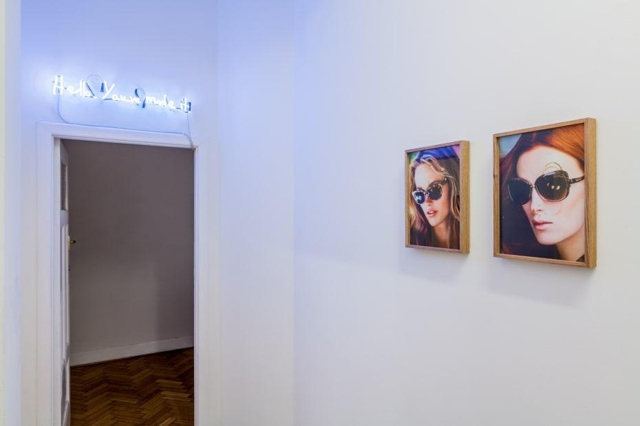 Kiron Robinson, Hello. You've made it., 2015 Installation view Photo: Christo Crocker