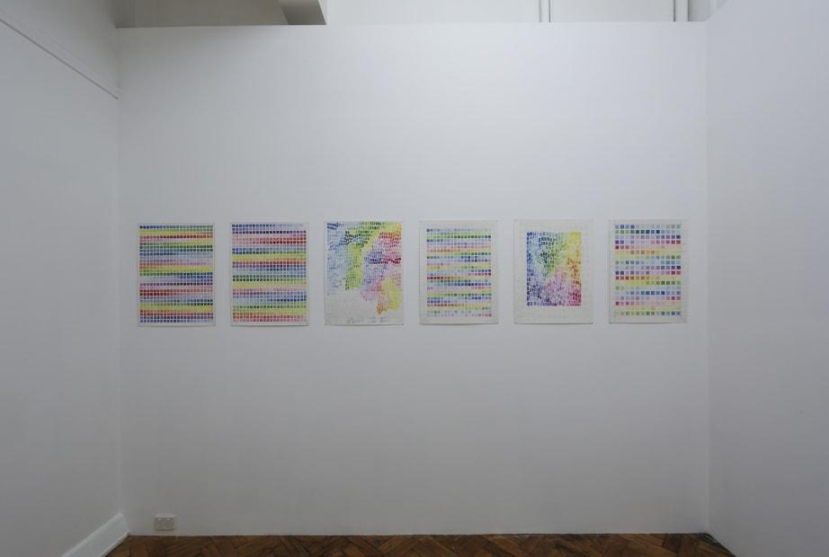 Anna Finlayson, Subjective grid, 2015 Installation view Photo: Kay Abude