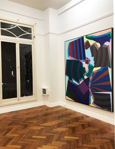 BRYAN SPIER Electric Paintings, 2019 Installation view