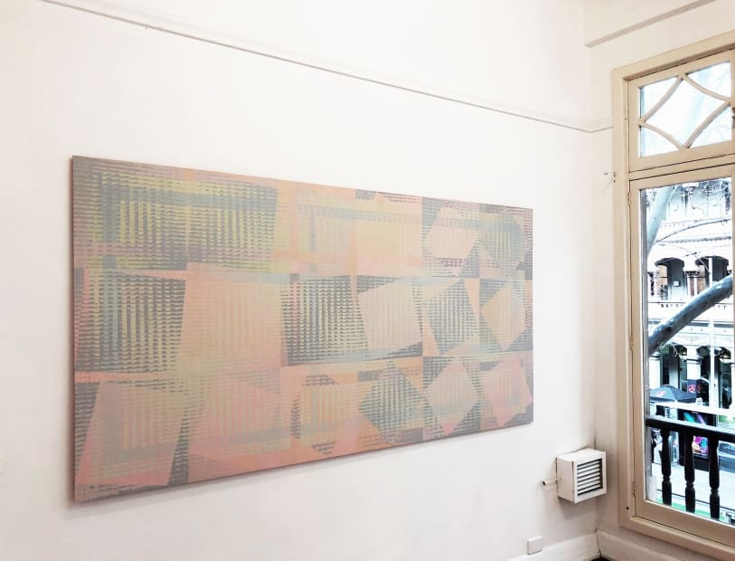 Nick Ryrie, The Enigma Code, 2018 Installation view