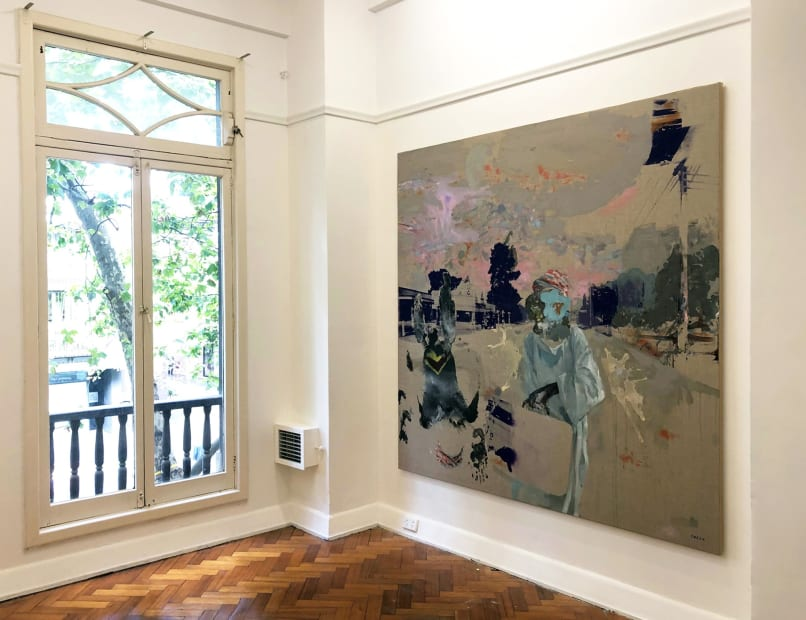 Greg Creek: Paintings, 2020 Installation view
