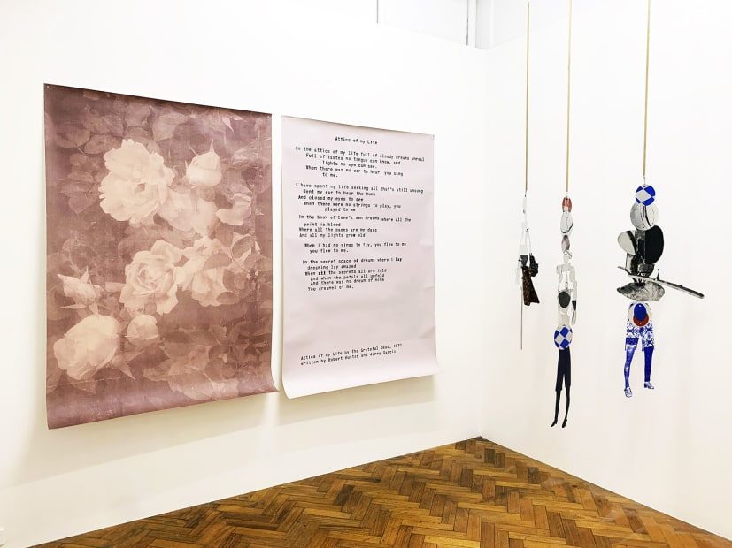 Kate Daw, Sally Smart, I don't rhyme right now, 2019 Installation view