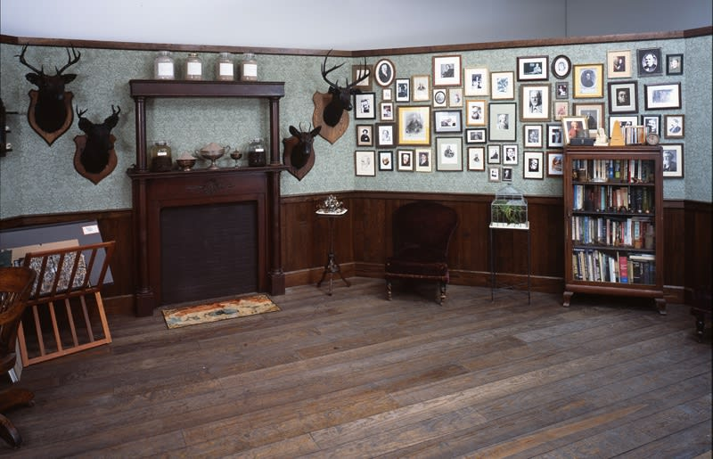 inside the octagon room