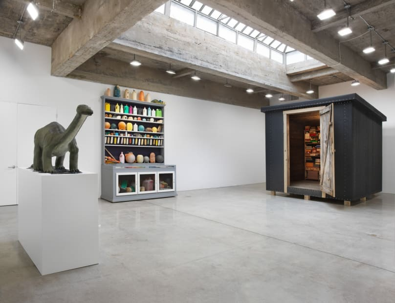 installation view of Dion show