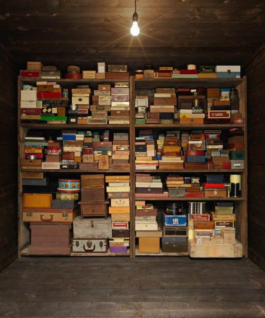 inside of memory box