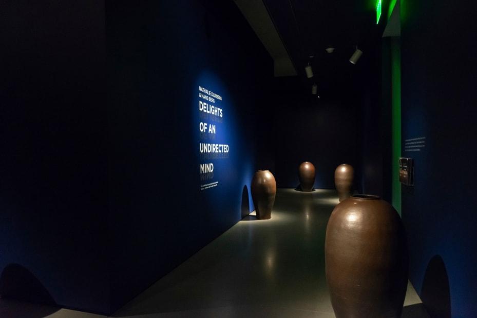 Djurberg & Berg sculpture installation of pots