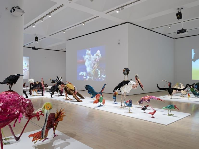 Djurberg & Berg sculpture and video installation, The Parade