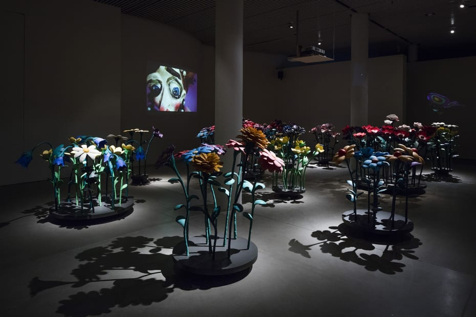 Djurberg & Berg video installation, the experiment