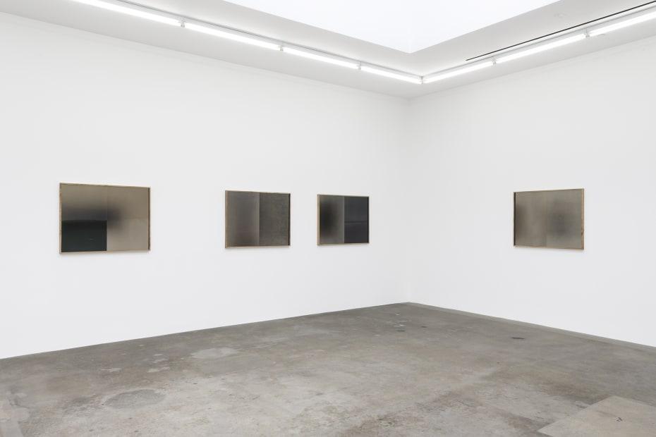 Installation view of Lisa Oppenheim, celluoids