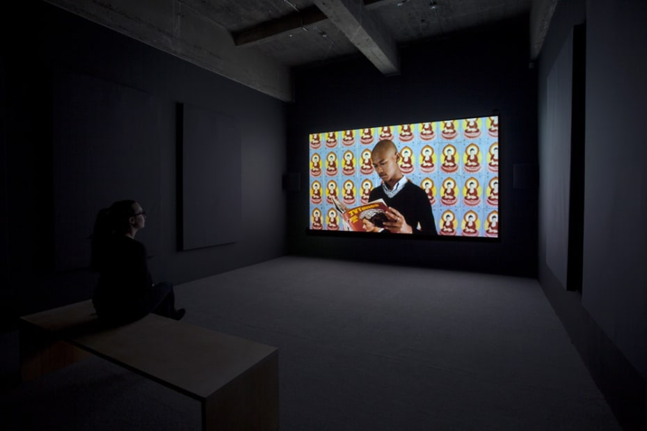 Phil Collins video installation
