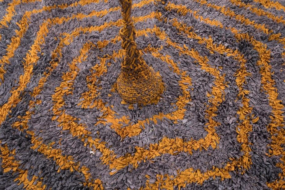 crochet floor