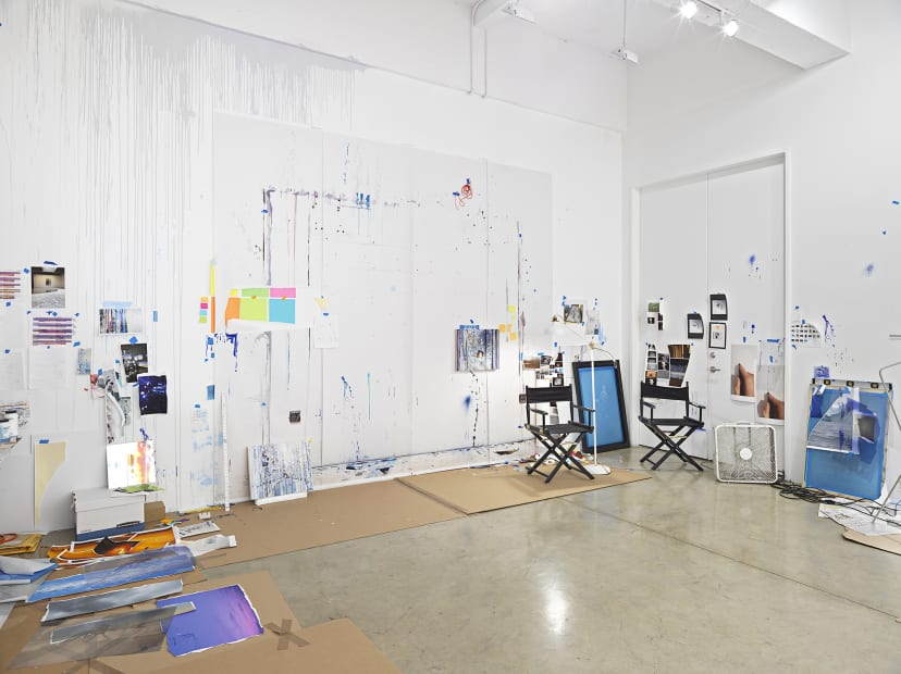 Sarah Sze studio room