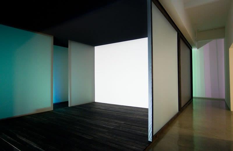 shadow and light room installation at TBG