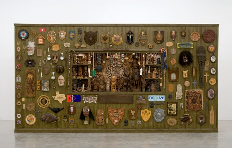 image of Jeffrey Vallance installation