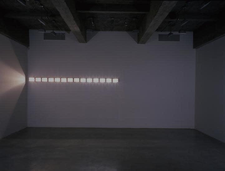 Eliasson room divided light spots