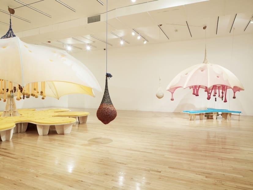 Ernesto Neto installation at the Aspen Art Museum