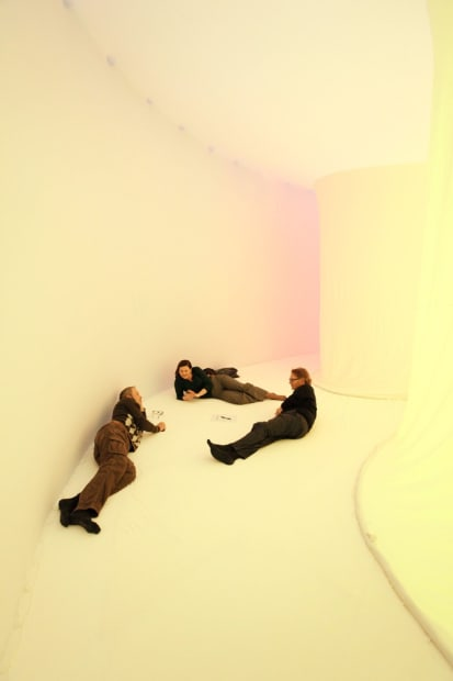 Ernesto neto installation, inside with people