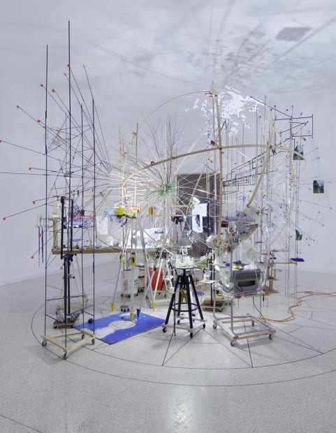 Image of Sze installation, planetarium